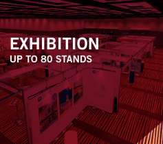 Exhibition up to 80 stands