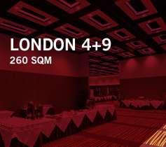 LONDON 4+9 – 260 SQM