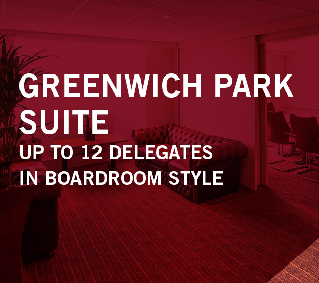 GREENWICH PARK SUITE – UP TO 12 DELEGATES – IN BOARDROOM STYLE