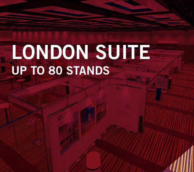 LONDON SUITE – UP TO 80 STANDS
