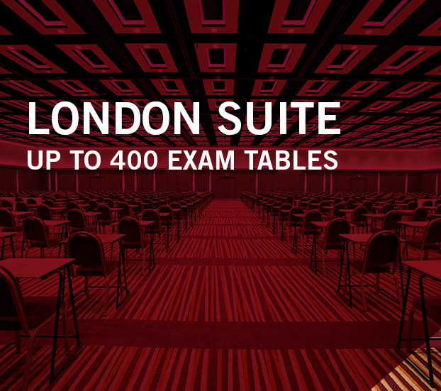 LONDON SUITE – UP TO 400 EXAM TABLES